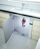 14809920-fregadero-obstruido--tubo-de-desag-e-con-un-nudo