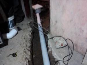 Cloacas domiciliarias recambio de cañerias en PVC